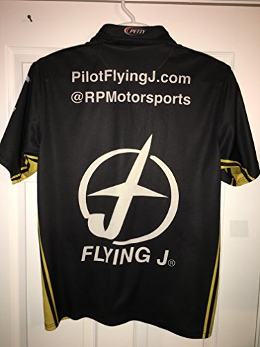 PETTY Michael Annett PIT CREW SHIRT NASCAR Ford Racing 1/4 ZIP Pilot Flying J Gas Stations Fuel Race (Racing Pilot)