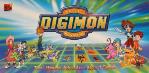 (Digital Digimon Monsters The Ultimate Adventure Board Game)