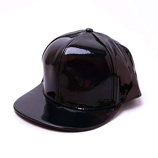 9d35e08792fad6 iCJJL 2019 Fashion Hip Hop Baseball Caps - PU Reflective Flat Brim Stylish  Rap Stars Hats