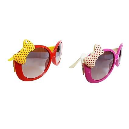 B Blesiya 2pcs Anteojos Polarizado Gafas de Sol Floral ...