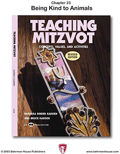 Teaching Mitzvot: Being Kind to Animals