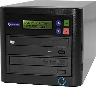 Microboards QD-DVD-CB 1-to-1 DVD CD Duplicator