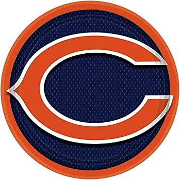 Amazon Chicago Bears Football Tailgate Birthday Party Pack