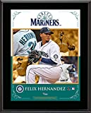 "Felix Hernandez Seattle Mariners Sublimated 10.5"" x 13"" Composite Plaque - Fanatics Authentic Certified"