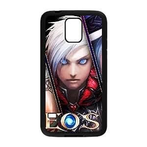 Samsung Galaxy S5 Cell Phone Case Black Echo of Souls Warrio Custom FDFNFDKND3083