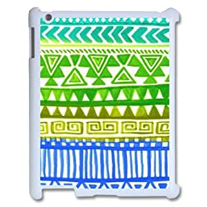 taoyix diy Green Tribal Pattern ZLB556665 Customized Phone Case for Ipad 2,3,4, Ipad 2,3,4 Case