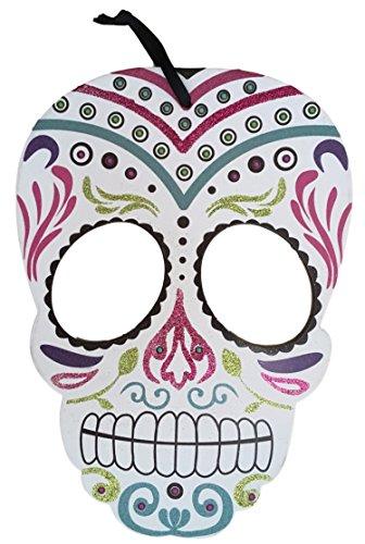 Casa Fiesta Designs Day of the Dead Skull Wall Decor - Decoracion Día de Muertos - White