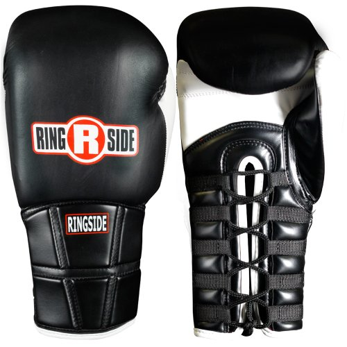 Ringside IMF Pro Fight Gloves, Black, 10-Ounce