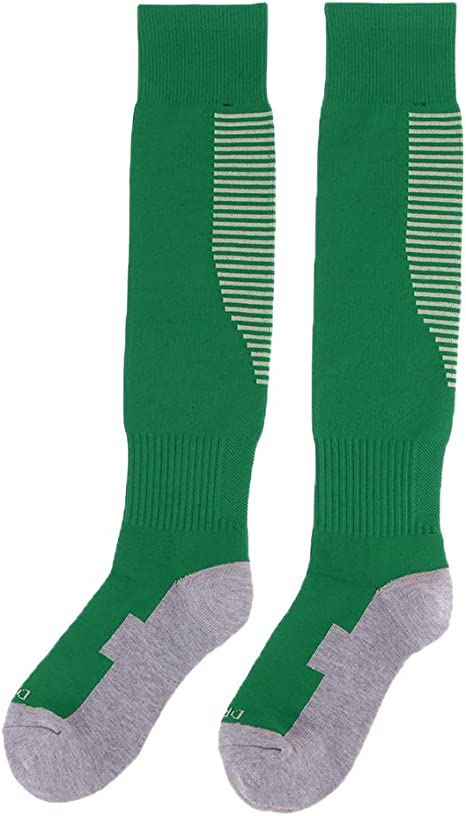 IPOTCH 1 Par de Calcetines de Fútbol de Algodón Antideslizante para Hombre Medias de Fútbol - Verde: Amazon.es: Deportes y aire libre
