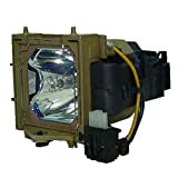 AuraBeam Professional Replacement Projector Lamp for Knoll Systems SP-LAMP-017 With Housing (Powered by Philips)