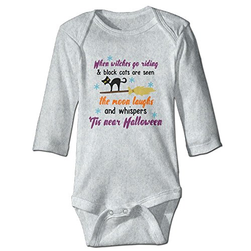 Baby Long Sleeve Climbing Suit When Witches Go