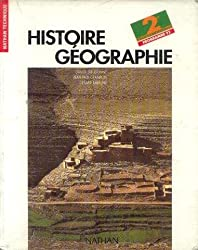 HISTOIRE GEOGRAPHIE 2NDE. Programme 1993
