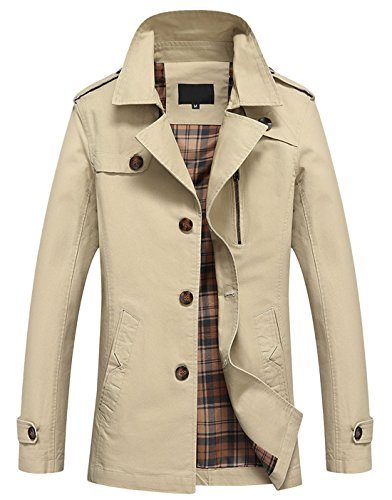 Cotton Twill Trench - 8