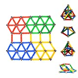 Magnetic Building Set Right Brain Exercises Magnet Stick Magnetic Sticks and Balls