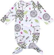 Unisex Baby Boys Girls Cartoon Sloth Sleeping Bag Wearable Sleep Sack Sleep Gown…