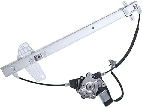 Power Window Regulator and Motor Replacement Parts fit for 2004-2013 Infiniti QX56 2005-2015 Nissan Armada 2004 Nissan Pathfinder Armada 2004-2015 Nissan Titan Rear Right Passengers Side 748-981