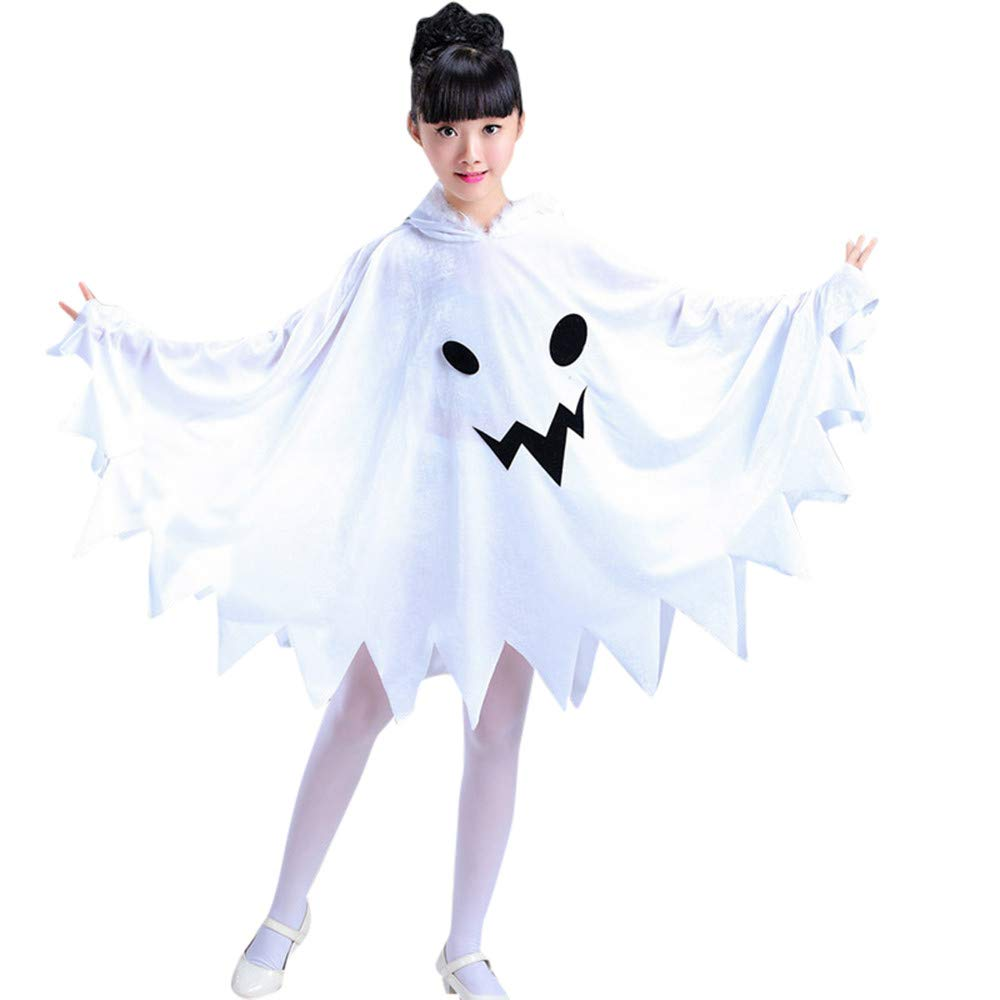 Toddler Kids Baby Girl Halloween Clothes Costume Dress Party Cloak Hoodie Outfit LuckyBB Baby Girls Clothes for 2-15 Years Old