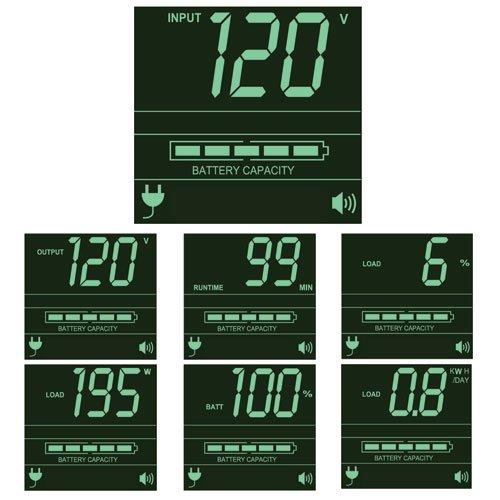 Tripp Lite 1500VA Smart UPS Back Up, Sine Wave, 1350W Line-Interactive, 2U Rackmount, Extended Run Option, LCD, USB, DB9 (SMART1500RMXL2UA) by Tripp Lite (Image #2)