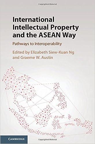 International Intellectual Property And The Asean Way Pathways To Interoperability Ng Elizabeth Siew Kuan Austin Graeme W 9781107167209 Amazon Com Books