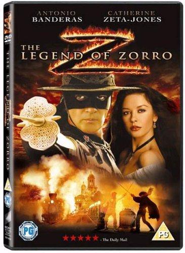 The Legend Of Zorro DVD 2005 2011 by Antonio Banderas ...