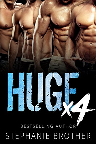 - HUGE X4: A Double Twin Stepbrother MMFMM Menage Romance (HUGE SERIES)