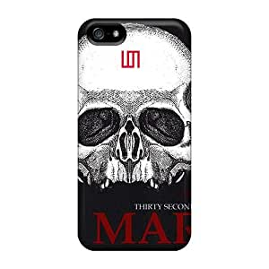 Iphone 5/5s Jly13705ouPQ Custom Attractive 30 Seconds To Mars Band 3STM Pattern Shock-Absorbing Hard Cell-phone Cases -AshleySimms