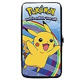 Pokemon Bifold Hinge Wallet - Logo w/ Pikachu Rainbow Pose