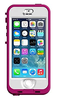 LifeProof NÜÜD Series Case for iPhone 5/5s/SE (WaterProof) - Retail Packaging - Pink (Pink/Clear)