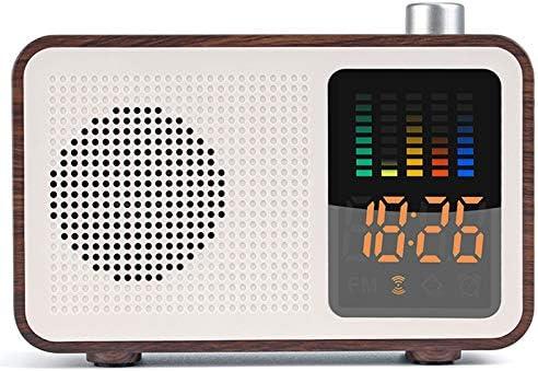 WOVELOT Despertador Altavoz Digital FM Radio Soporte Aux Tarjeta ...
