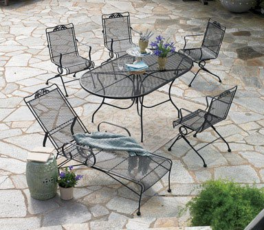 Meadowcraft Glenbrook Outdoor / Patio Dining Table 72