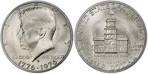 Dollar High Mint - 1976 S 40% Silver Kennedy Half Dollar Gem Half Dollar Brilliant Uncirculated (1/2) High MS US Mint