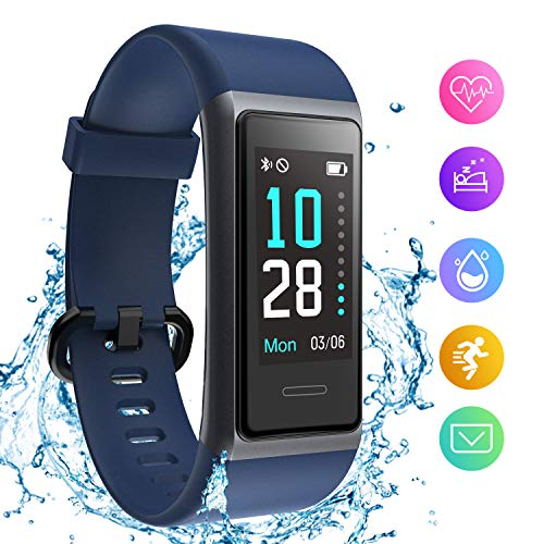 HolyHigh Fitness Band Smart Watch for Men Women Heart Rate Monitor Waterproof Fitness Tracker Sleep Monitor Smart Band Bluetooth Call Whatsapp Notification Step Counter Stop Watch Price & Reviews