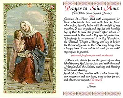 Novena to st anne mother of mary
