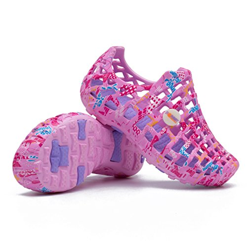 Xing Lin Flip Flop De La Playa Casual Masculino Calzado De Playa, Sandalias, Macho Antideslizante Hueco Perezoso Afluencia De Amantes Zapatos Zapatos Más Abierto El Agujero De Verano Princess powder