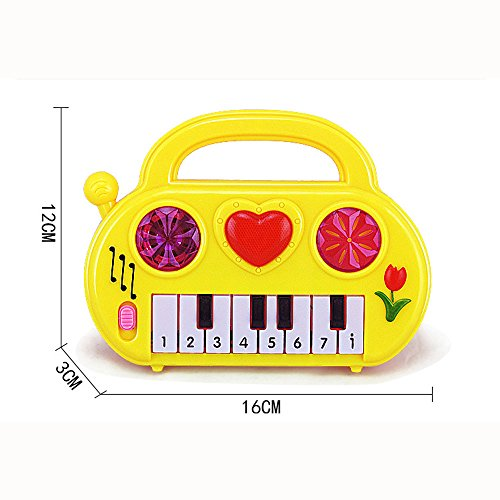 Educational Baby Piano Toy, Doinshop Kid Wisdom Deveop Musical Instrument Birthday Gift