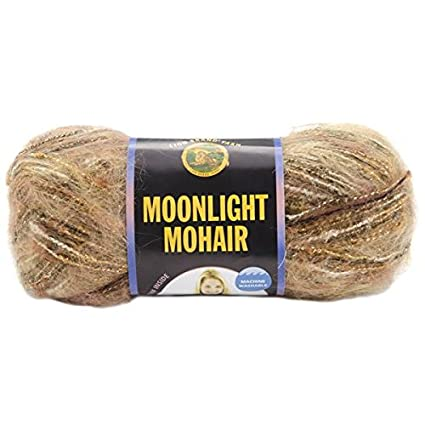 Lion Brand Moonlight Mohair Yarn, Safari