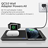 Wireless Charger,QI-EU 3 in 1 Wireless Charging