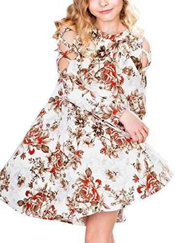 luvamia-Girls-Floral-Print-Long-Sleeve-Crisscross-Cold-Shoulder-A-Line-Dress