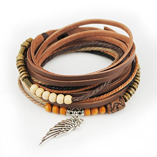Genuine Leather Bracelet Vintage Wristband