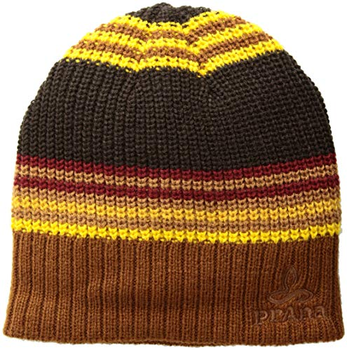 prAna Men's Gonzalez Beanie Cold Weather Hats, One Size, Scorched Brown ()