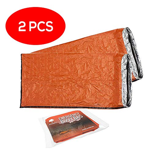Bramble 2 Pack Emergency Bivvy Bag - Survival Sleeping Bag – Bushcraft...