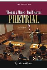 Pretrial (Aspen Coursebook) Paperback