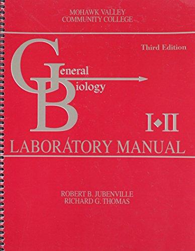 General Biology Laboratory Manual I AND II
