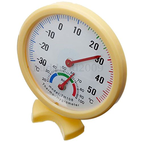 temperatura Hygrometer - TOOGOO(R)TH108 LCD Digital temperatura Hygrometer per Acquario SHOMAM11145