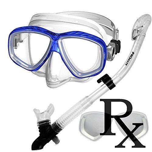 285890-Rx Lens-Dry Snorkel Prescription Snorkeling Mask Snorkel Set (Best Snorkeling In Roatan)