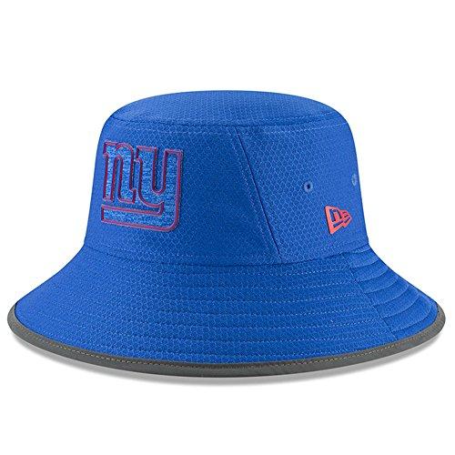 New York Giants Training Camp - New York Giants New Era 2018 Training Camp Primary Bucket Hat Royal