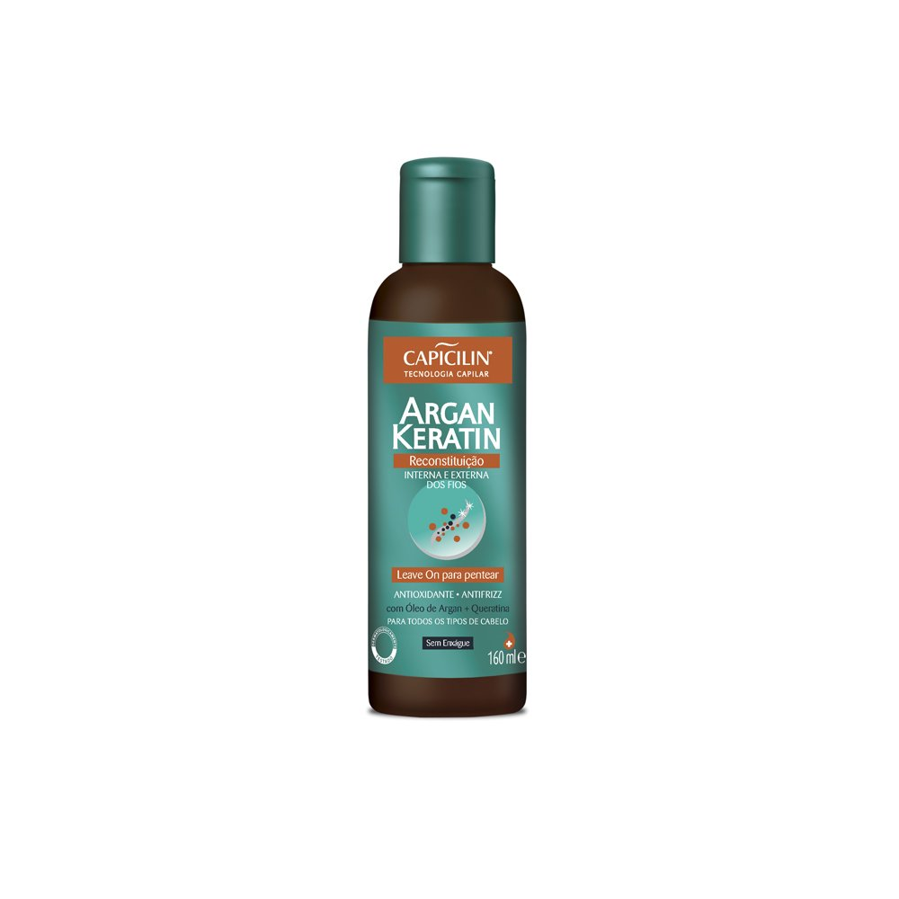 Amazon.com : Linha Argan Keratin Capicilin - Leave On Para ...
