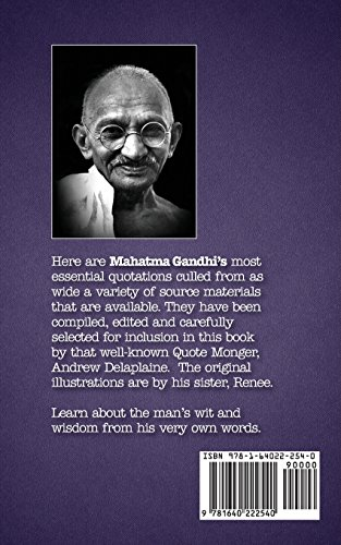 The Delaplaine MAHATMA GANDHI - His Essential Quotations image 2
