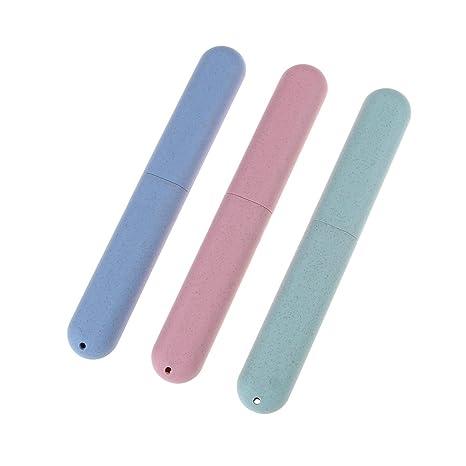 coscosx 1 pcs cepillo de dientes de viaje caso, estilo nórdico ligero higiénico cepillo de