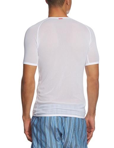 Uomo In Da Mm Rete Maglietta Bianco Löffler nRWXUSqww
